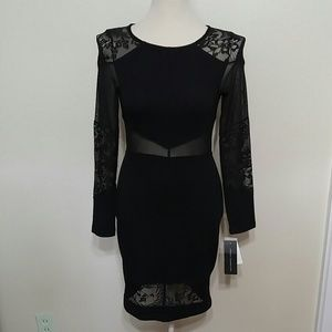 NWT French Connection bodycon little black dress